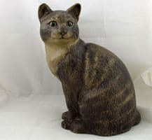 Poole Pottery Stoneware Cat Sitting Down