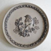 Poole Pottery Stoneware Plate, British Garden Birds, The Robin