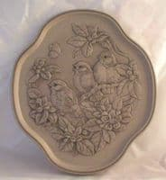 Poole Pottery Stoneware Seasons Plate, Spring