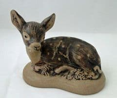 Poole Pottery Stoneware Small Fawn