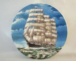 Poole Pottery Transfer Plate, Archibald Russell Sailing Barque