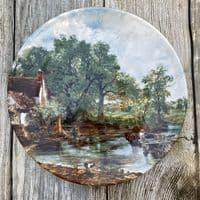 Poole Pottery Transfer Plate, Constable's Haywain