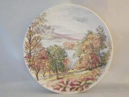Poole Pottery Transfer Plate, England's 4 Seasons, Autumn in the Lake District