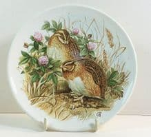 Poole Pottery Transfer Plate, Game Birds, No 2