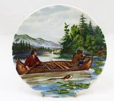 Poole Pottery Transfer Plate, Hunting for Deer