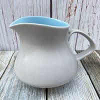 Poole Pottery Twintone Sky Blue and Dove Grey (C104)