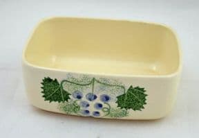Poole Pottery Vineyard Butter Dishes Bases