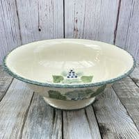 Poole Pottery Vineyard Footed Serving Bowl
