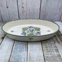 Poole Pottery Vineyard Oval Serving Dish