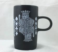 Purbeck Pottery Playing Card Mugs