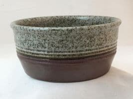 Purbeck Pottery, Portland Pattern, Cereal/Soup Bowls, Darker Colouring