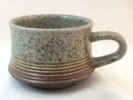Purbeck Pottery, Portland Pattern, Smaller Cups, Darker Colouring