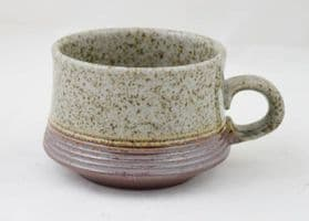 Purbeck Pottery, Portland Pattern, Standard Sized Cups, Darker Colouring