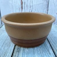Purbeck Pottery Toast Soup/Cereal/Dessert Bowl