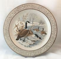 Purbeck Pottery Wildlife Decorative Plates, Canada Geese
