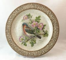 Purbeck Pottery Wildlife Decorative Plates, Chaffinch