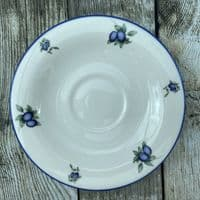 Royal Doulton Blueberry Tea Saucer