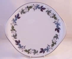 Royal Doulton Burgundy (TC 1001) Eared Serving Plates