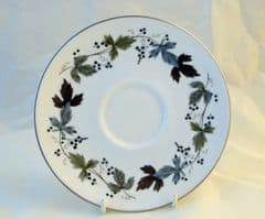 Royal Doulton Burgundy (TC 1001) Saucers for Cups