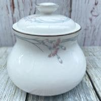 Royal Doulton Carnation Lidded Sugar Bowl