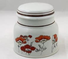 Royal Doulton Fieldflower (LS1019) Lidded Sugar/Jam Pots