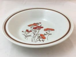 Royal Doulton Fieldflower (LS1019) Narrow Rimmed Cereal/Soup Bowls