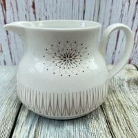 Royal Doulton Morning Star Milk Jug (Later Style with White Handle)