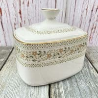 Royal Doulton Paisley Lidded Sugar Dish