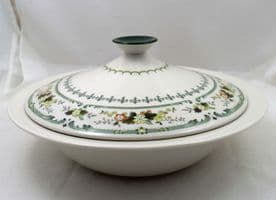 Royal Doulton Provencal (TC 1034) Lidded Serving Dishes, Second Quality