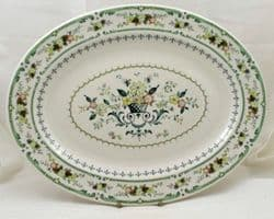 Royal Doulton Provencal (TC 1034) Oval Serving Plates, Second Quality