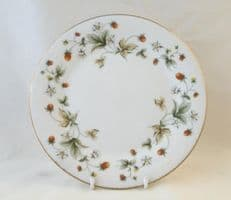 "Royal Doulton Strawberry Cream (TC1118) 8"" Desert Plates"