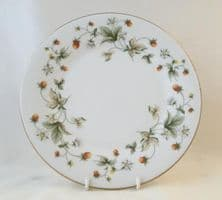 "Royal Doulton Strawberry Cream (TC1118) 9"" Salad Plates"