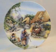 "Royal Doulton ""The Thatcher"" Plate"