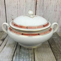 Royal Worcester Beaufort (Rust) Lidded Serving Dish (Tureen)