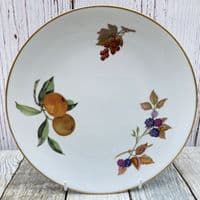 Royal Worcester Evesham Gold Cake Serving Plate, 9""