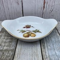 Royal Worcester Evesham Gold Entree, 8.5""