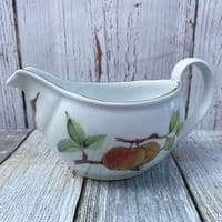 Royal Worcester Evesham Gold Gravy/Sauce Jug (Blackberry/Apple)
