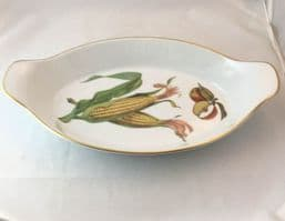 Royal Worcester Evesham (Gold) Large Oval Eared Serving Dishes