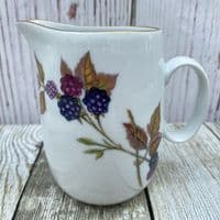 Royal Worcester Evesham Gold Milk Jug, 0.5 Pints (Peach/Blackberry)