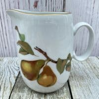Royal Worcester Evesham Gold Milk Jug, 0.5 Pints (Peach/Pear)