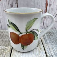 Royal Worcester Evesham Gold Mug (Orange/Blackcurrant)