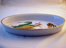 Royal Worcester Evesham (Gold) Oval Open Serving Dish