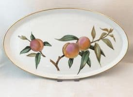 Royal Worcester Evesham (Gold) Shallow Oval Serving Dish