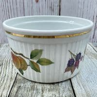 Royal Worcester Evesham Gold Souffle Dish, 1.25 Pints (Apple/Blackberry)