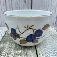 Royal Worcester Evesham Gold  Sugar Bowl (Plum/Blackcurrant/Peach)