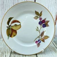 "Royal Worcester Evesham Gold Tea Plate, 6.75"" (Split Apple)"
