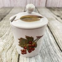 Royal Worcester Evesham Mustard Pot
