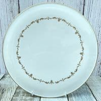 Royal Worcester Gold Chantilly Gateau Plate