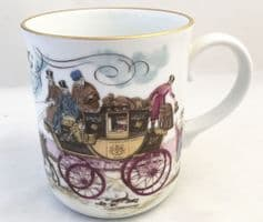 Royal Worcester Mugs, Coaching Days