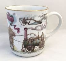 Royal Worcester Mugs, God Speed The Plough